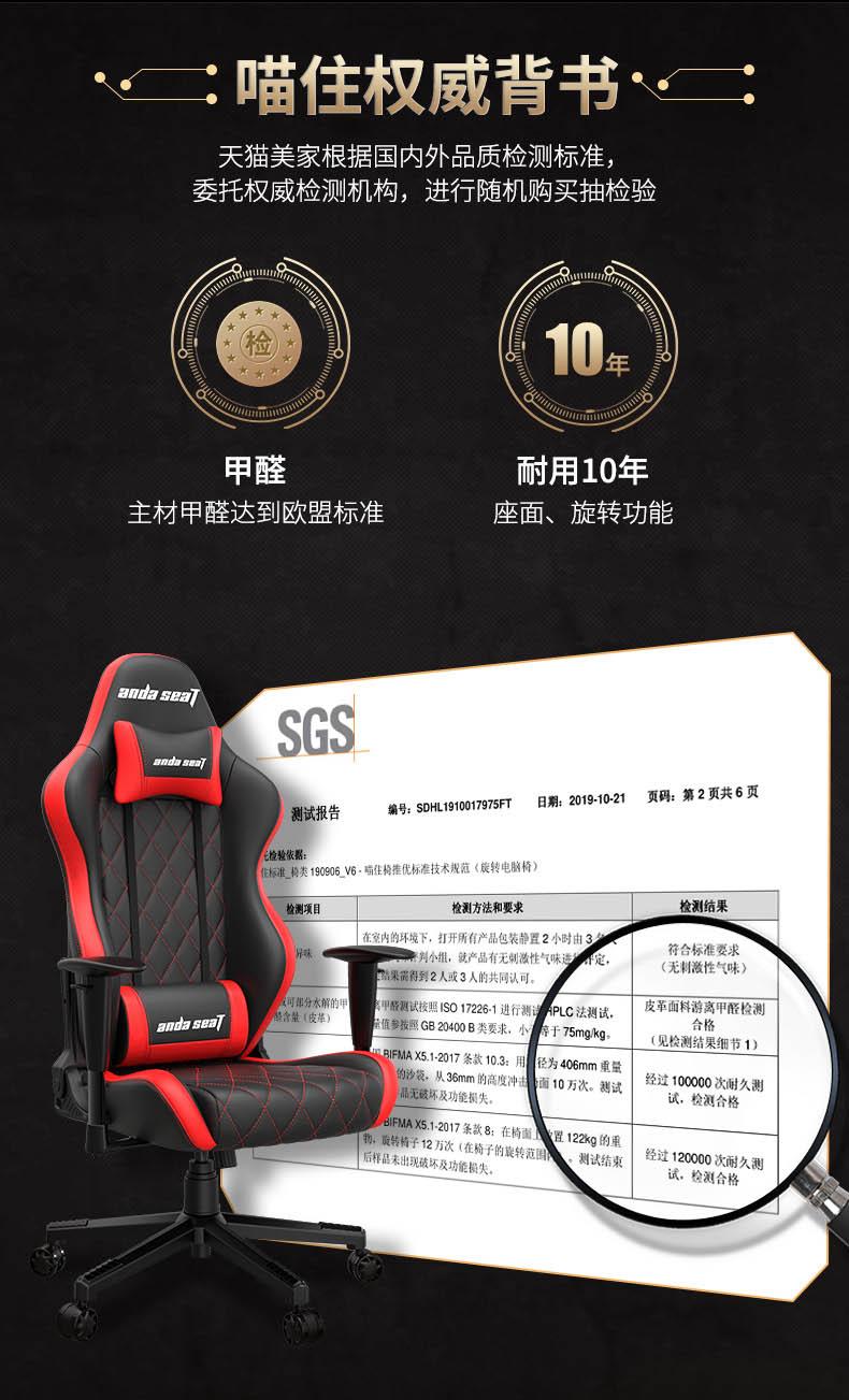 专业电竞椅-战神王座产品介绍图7