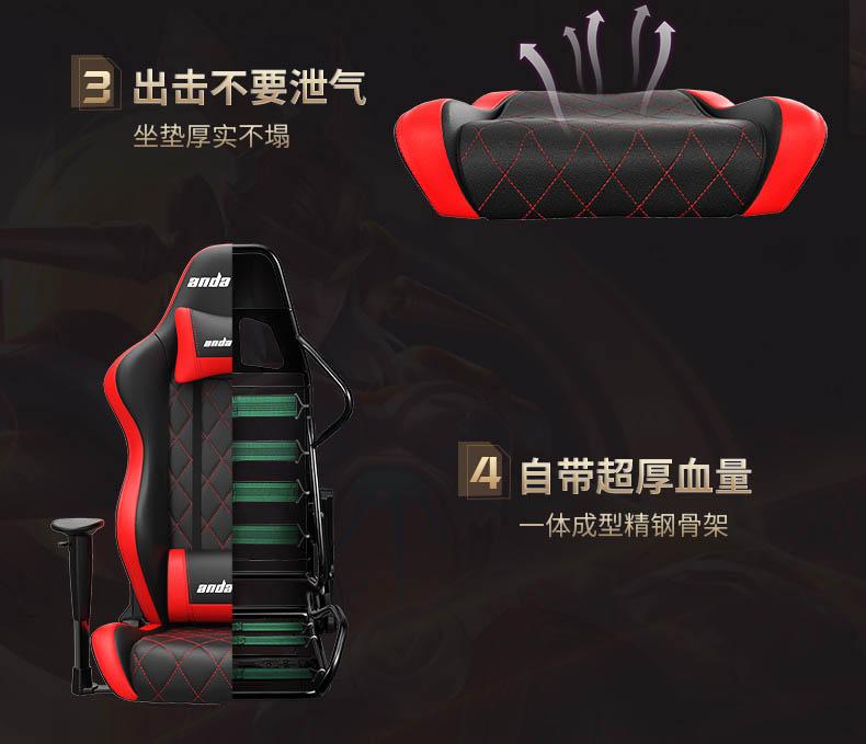 专业电竞椅-战神王座产品介绍图11