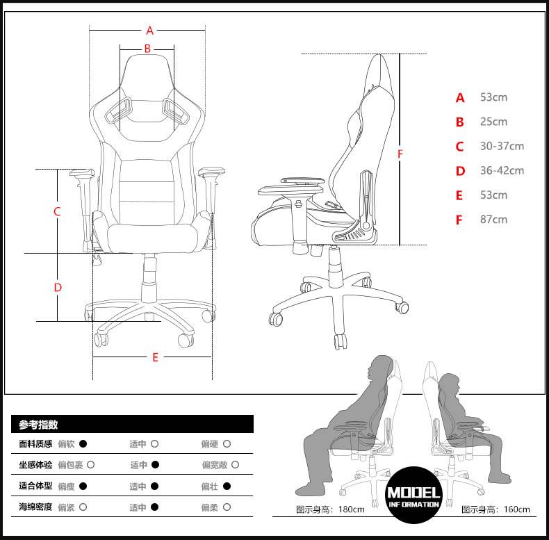 高端电竞椅-幻影王座产品介绍图20