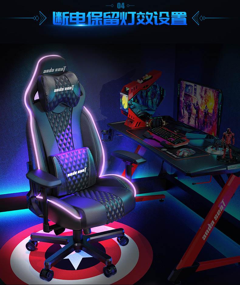 高端电竞椅-永夜王座产品介绍图5