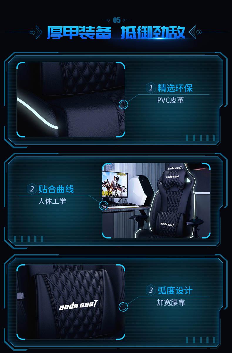 高端电竞椅-永夜王座产品介绍图6