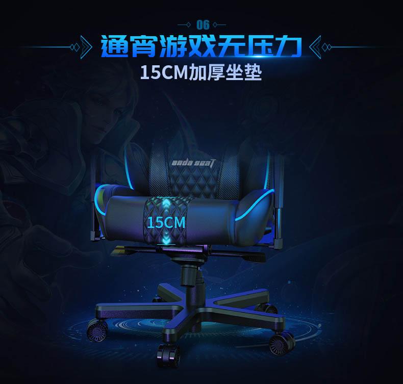 高端电竞椅-永夜王座产品介绍图7
