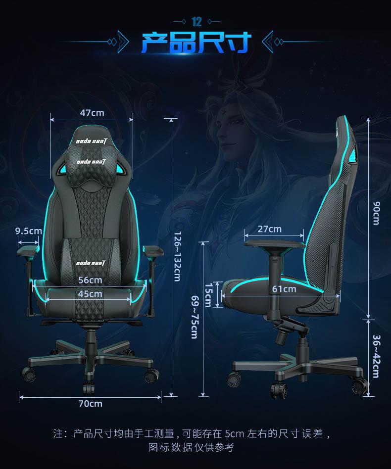 高端电竞椅-永夜王座产品介绍图14