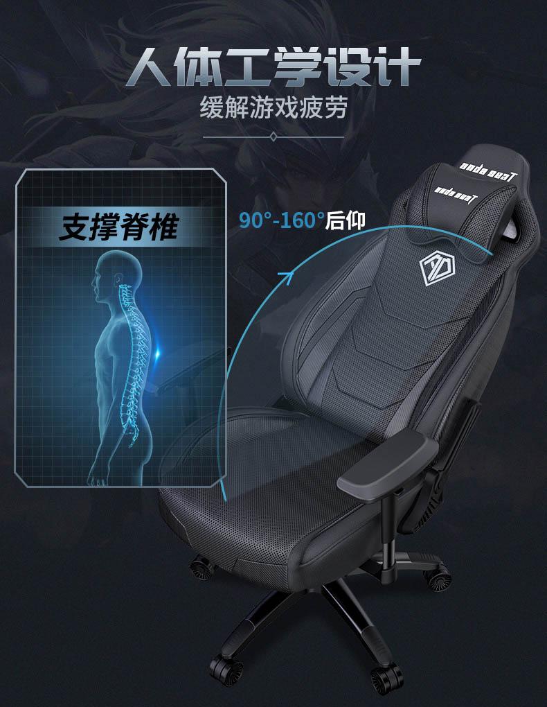 高端电竞椅-飓风王座产品介绍图10