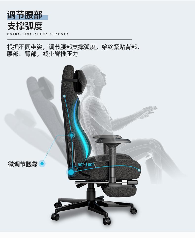 工学电竞椅-轻享王座产品介绍图8