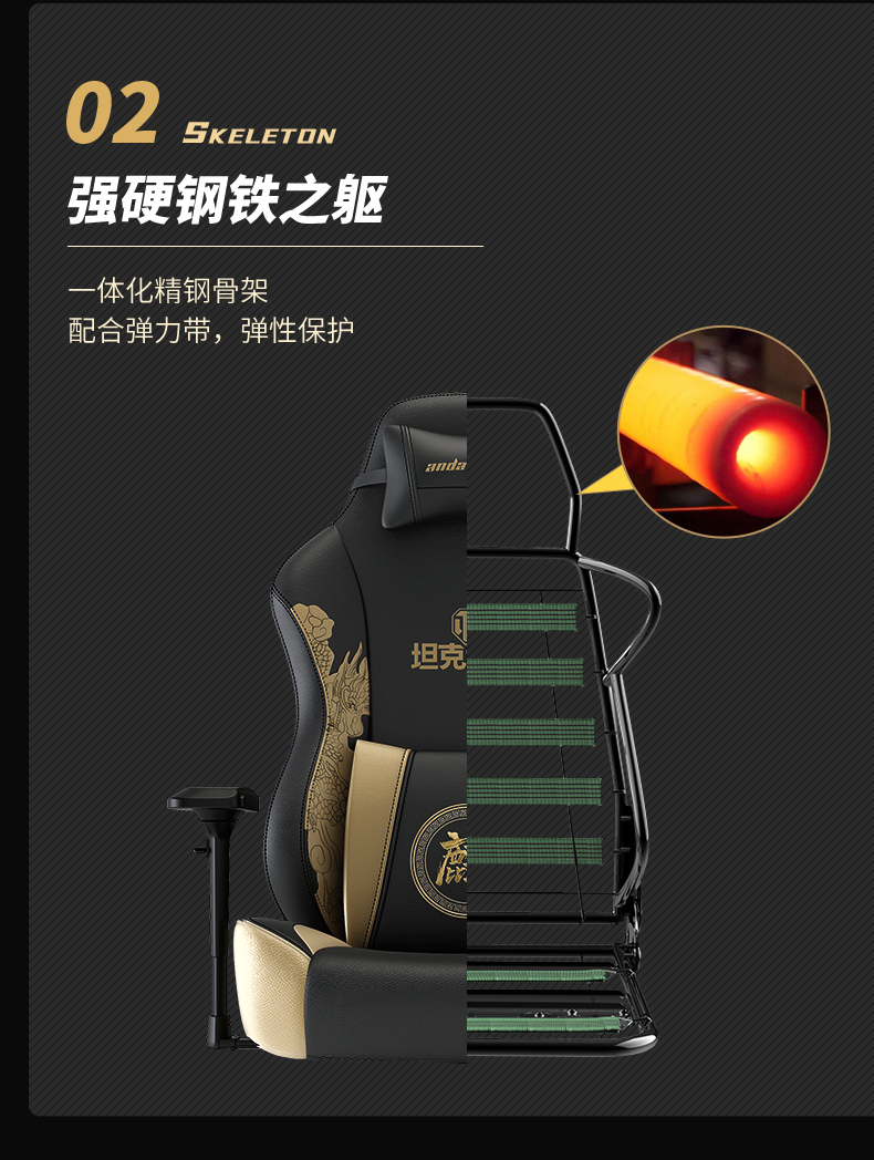 战队电竞椅-坦克世界产品介绍图7