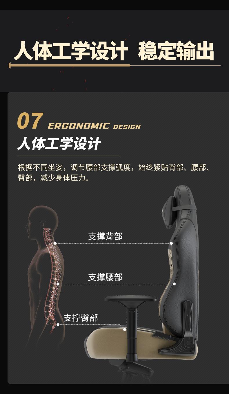 战队电竞椅-坦克世界产品介绍图13