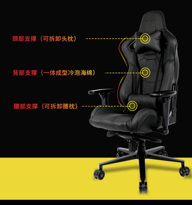 办公电脑椅-君临王座产品介绍图10