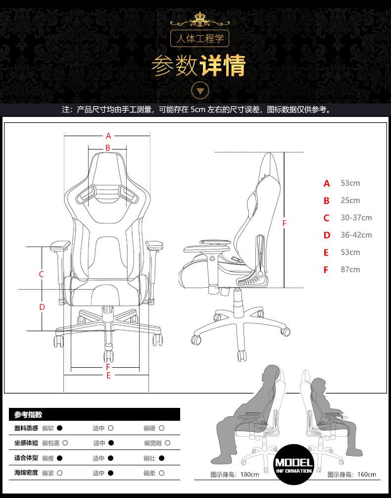 办公电脑椅-君临王座产品介绍图16