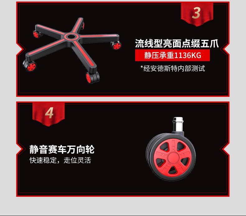 办公电脑椅-神盾王座产品介绍图12