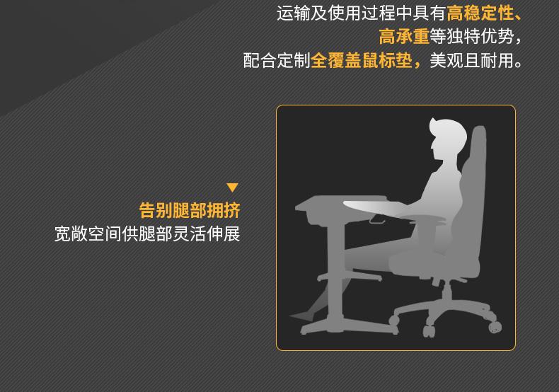 猎豹战士电竞桌产品介绍图8