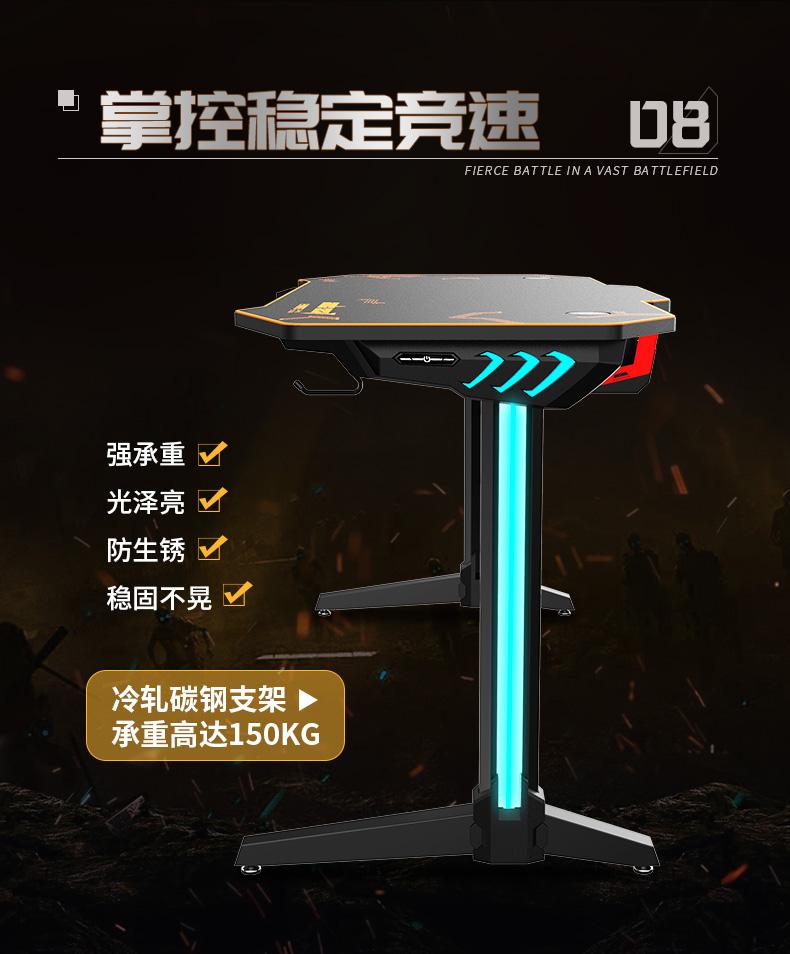 猎豹战士电竞桌产品介绍图10