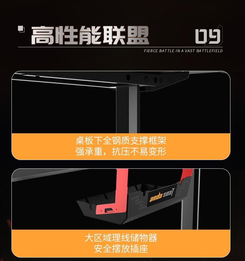 猎豹战士电竞桌产品介绍图11