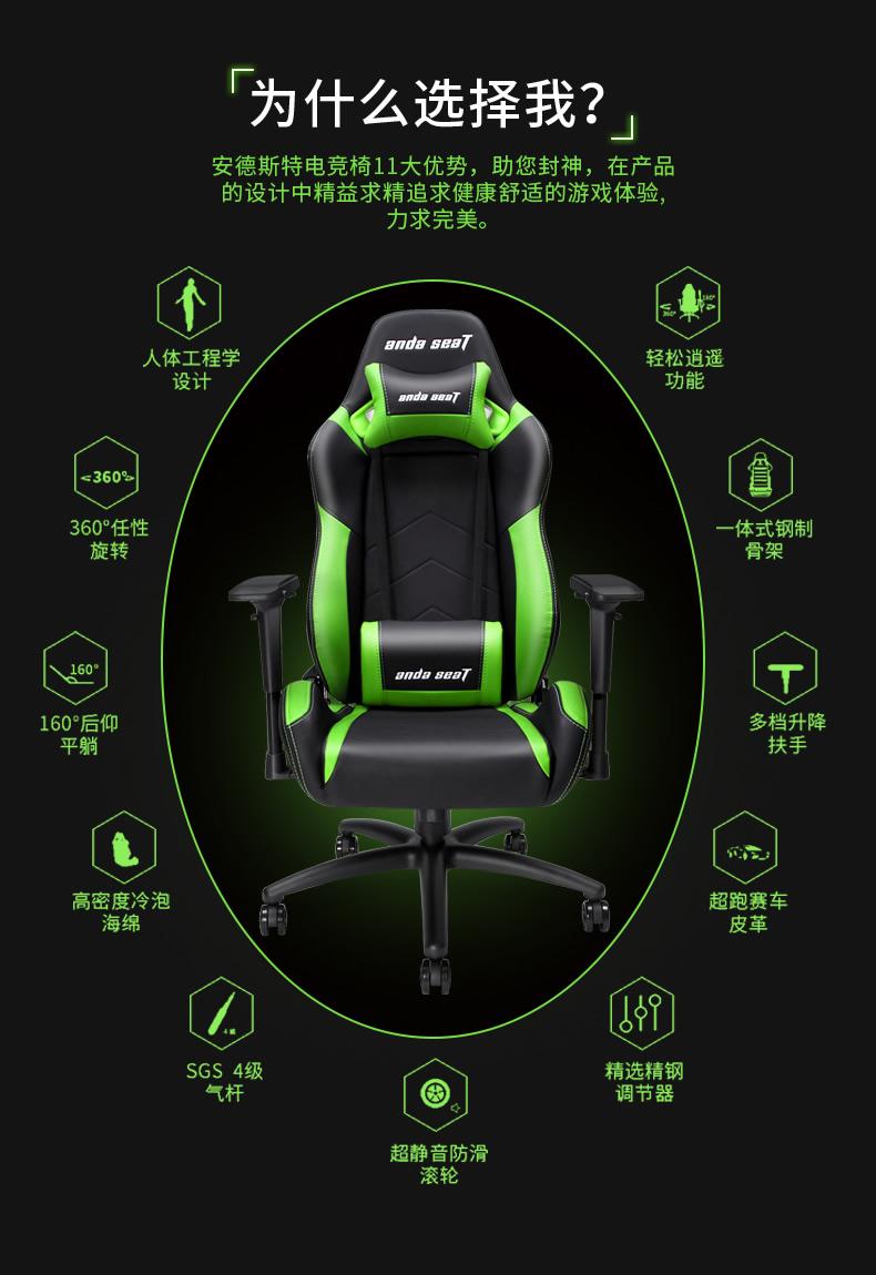 工学电竞椅-魔法王座产品介绍图3