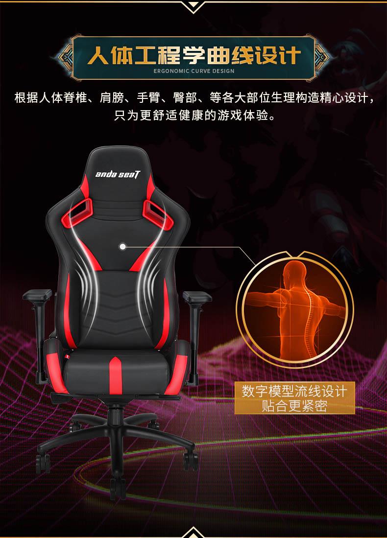 工学电竞椅-荣耀王座产品介绍图3