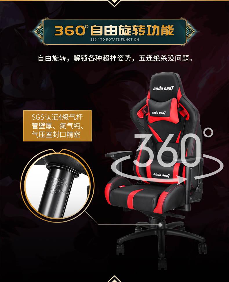 工学电竞椅-荣耀王座产品介绍图4