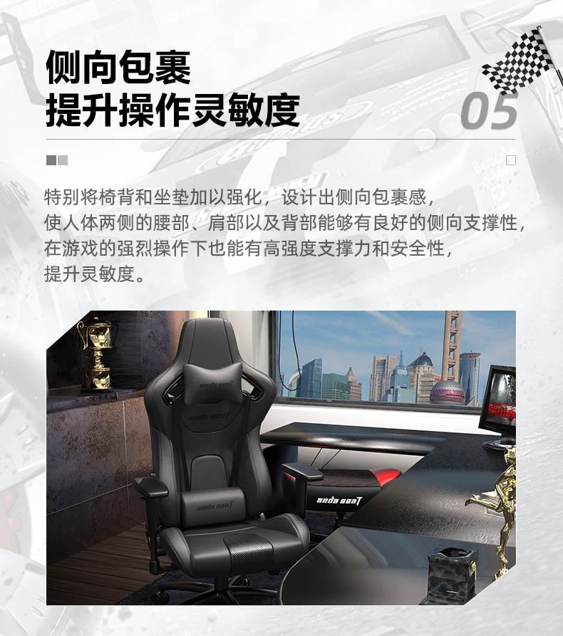 专业电竞椅-疾风王座产品介绍图7