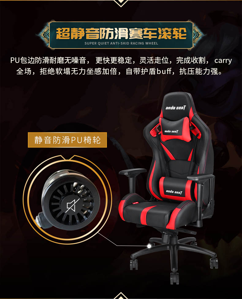 工学电竞椅-荣耀王座产品介绍图9