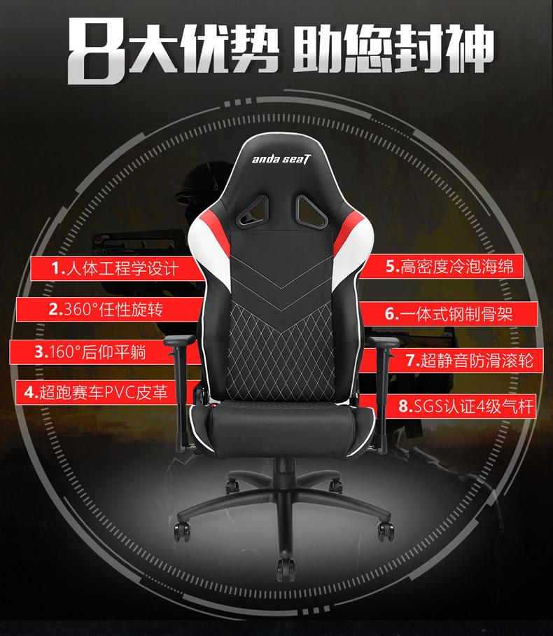 战队电竞椅-雷霆王座产品介绍图2
