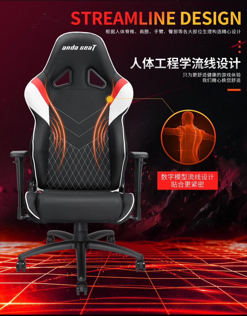 战队电竞椅-雷霆王座产品介绍图3