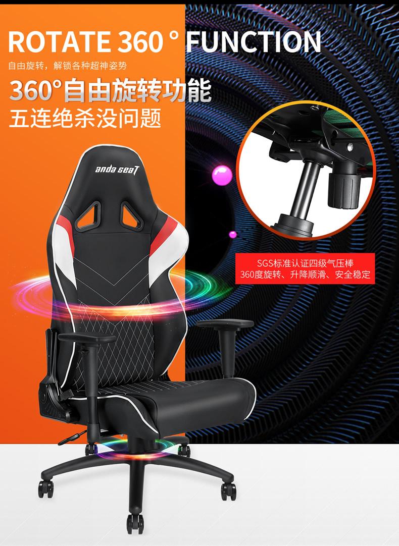 战队电竞椅-雷霆王座产品介绍图5