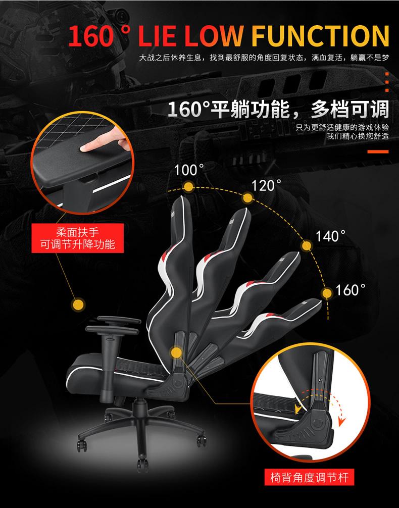 战队电竞椅-雷霆王座产品介绍图6