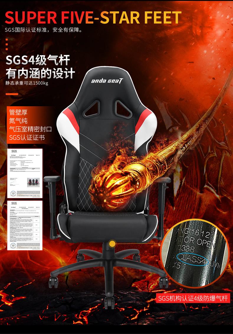 战队电竞椅-雷霆王座产品介绍图10