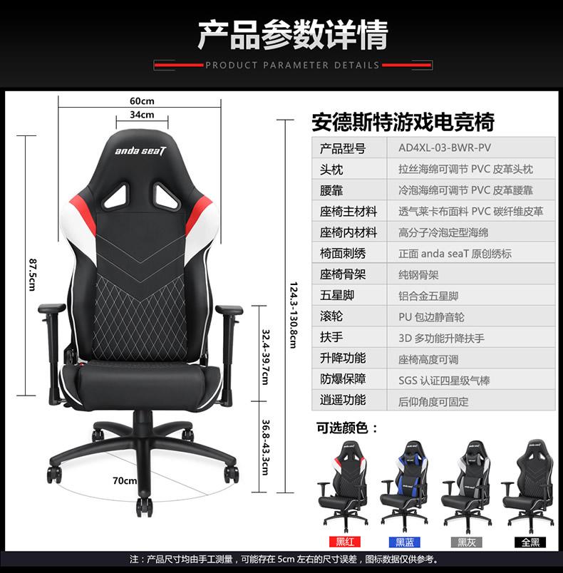 战队电竞椅-雷霆王座产品介绍图14