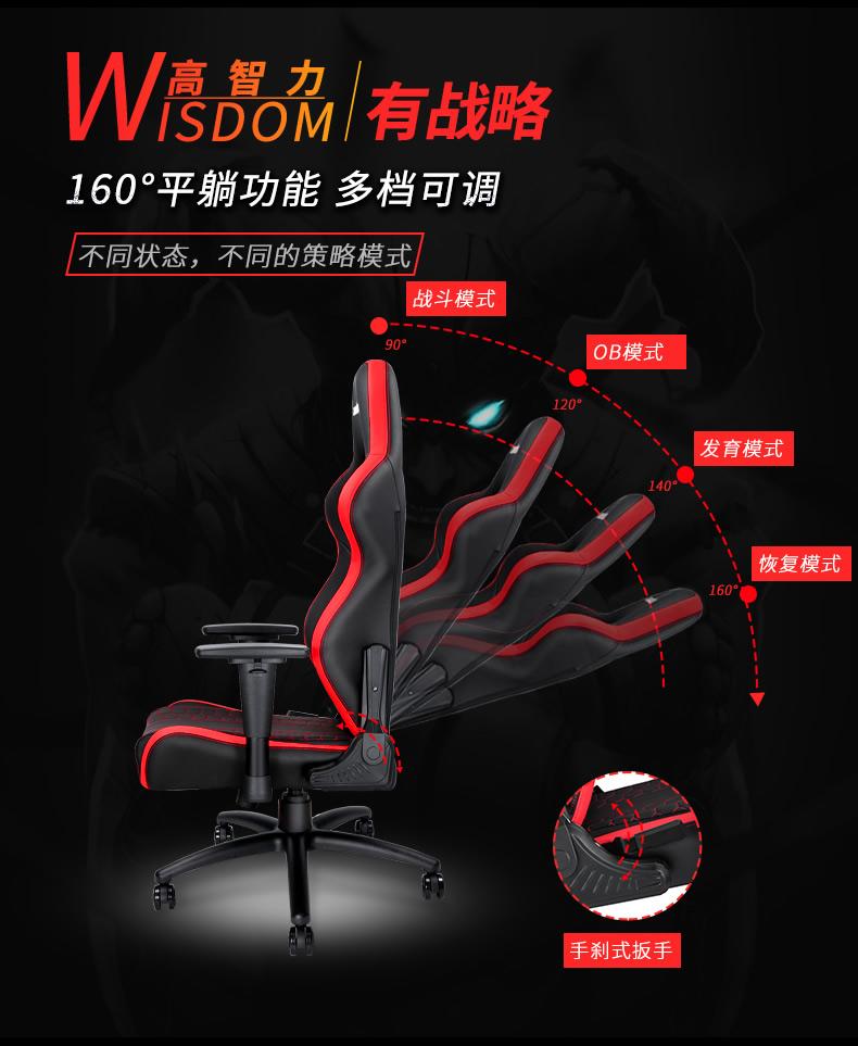 战队电竞椅-擎天王座产品介绍图11