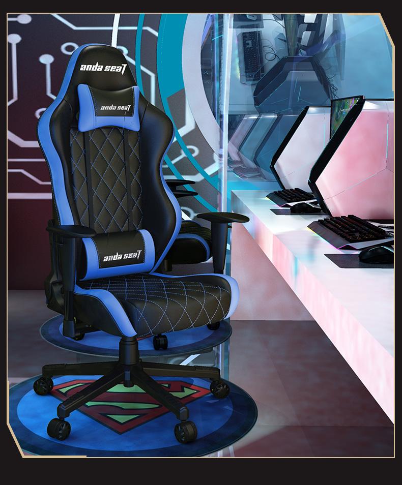 俱乐部联名款电竞椅-蓝色战神产品介绍图7