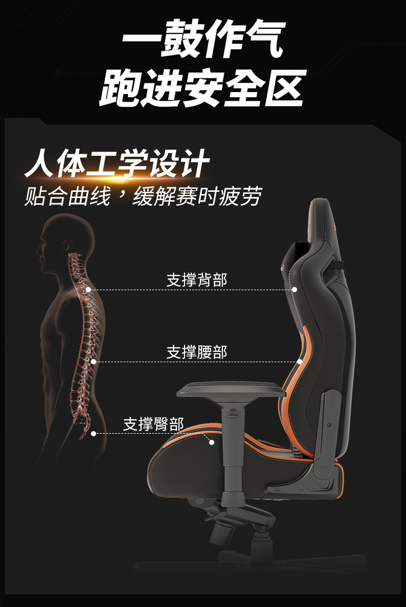 17Gaming战队定制款电竞椅产品介绍图9