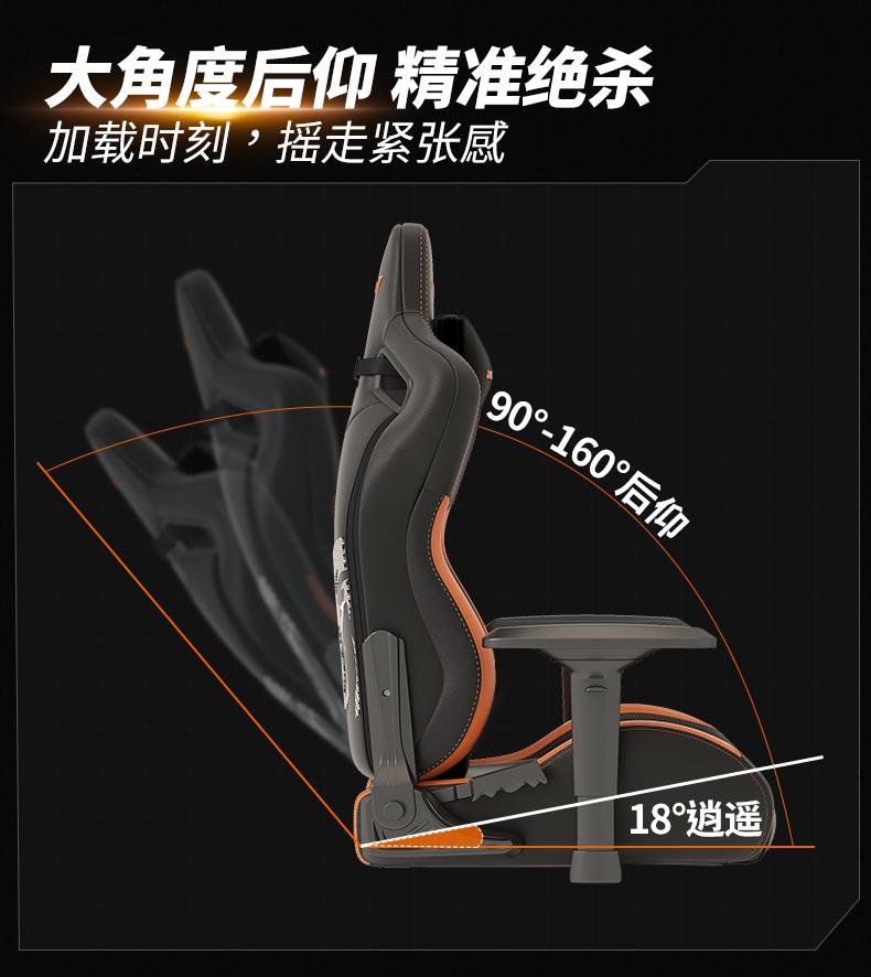 17Gaming战队定制款电竞椅产品介绍图12