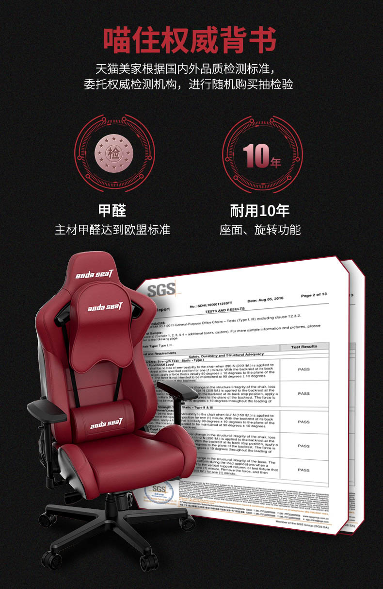 高端电竞椅-赤焰王座产品介绍图2