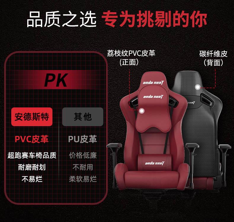 高端电竞椅-赤焰王座产品介绍图5