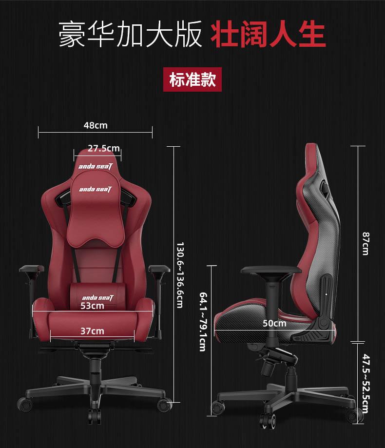 高端电竞椅-赤焰王座产品介绍图15