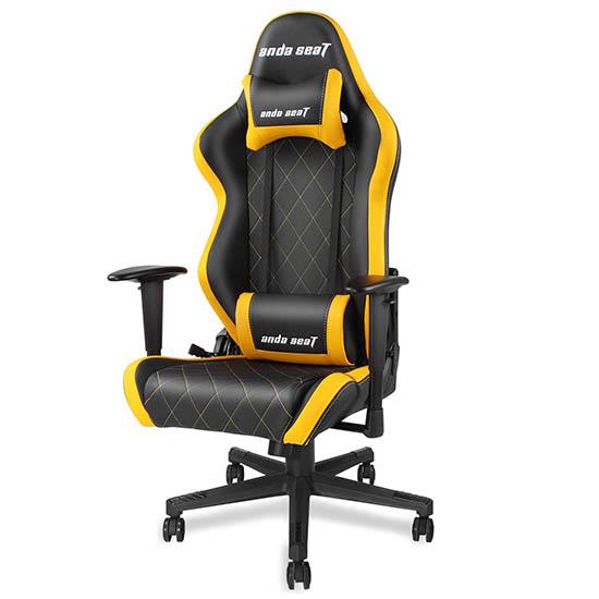 黑黄款战神王座电竞椅