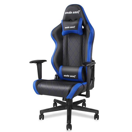 黑蓝款战神王座电竞椅