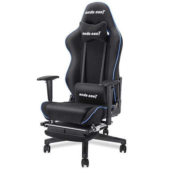 黑蓝款暗黑王座电竞椅