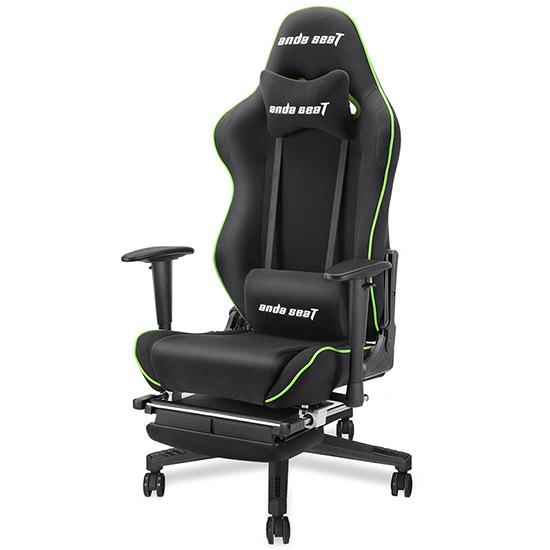 黑绿款暗黑王座电竞椅