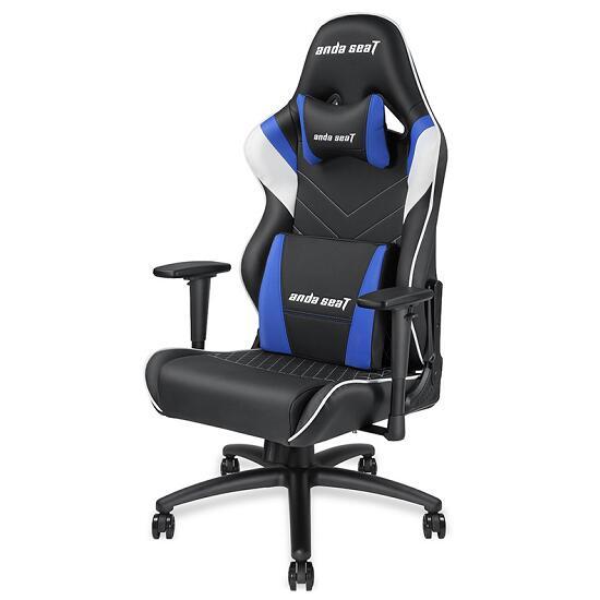 黑蓝款雷霆王座电竞椅