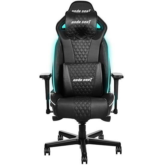 黑绿款永夜王座电竞椅
