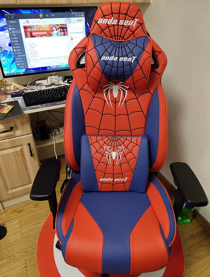 专业电竞游戏椅蜘蛛王座高清图3