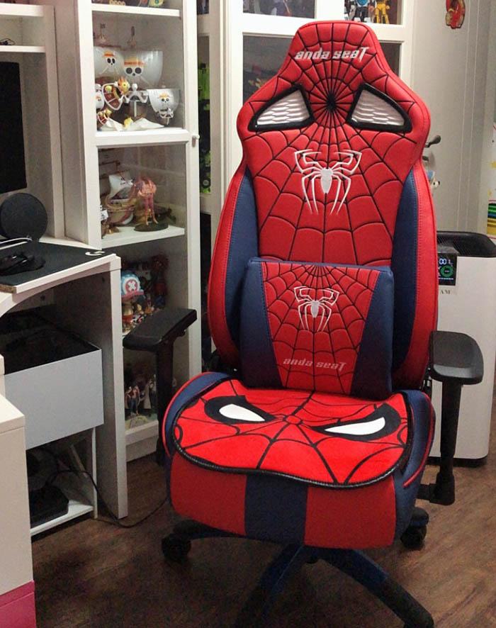 专业电竞游戏椅蜘蛛王座高清图4