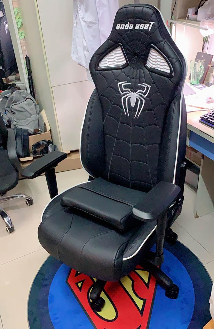 专业电竞游戏椅蜘蛛王座高清图6