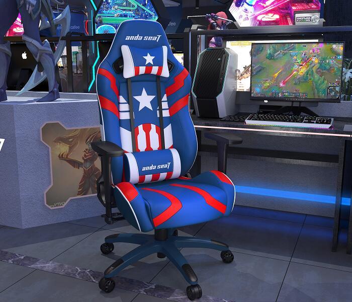 正义王座新猎豹电竞桌椅组合图2