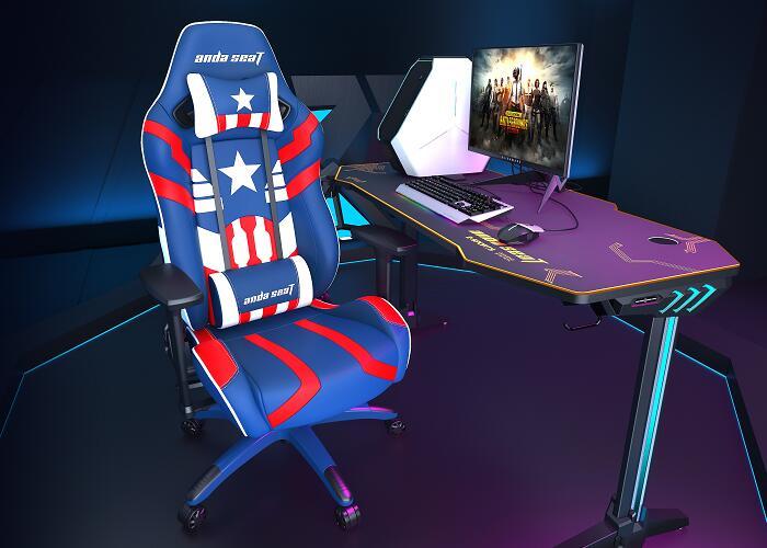 正义王座新猎豹电竞桌椅组合图6