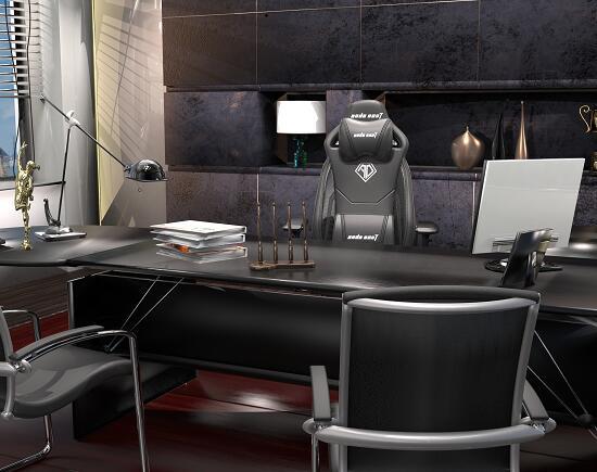 办公电脑椅 飓风王座 电竞桌椅办公组合图