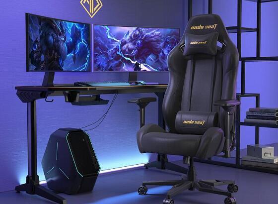 游戏办公电竞椅 黑曜王座 高清场景图