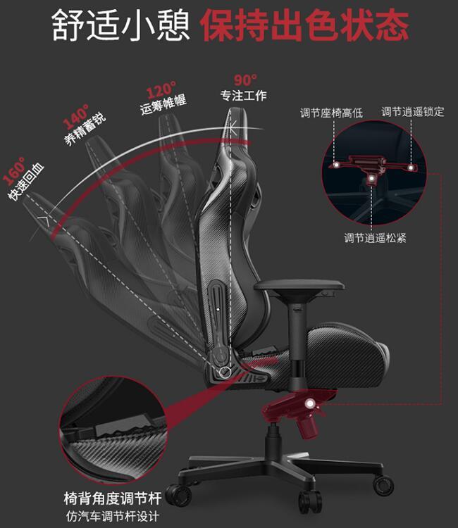人体工学电竞椅设计