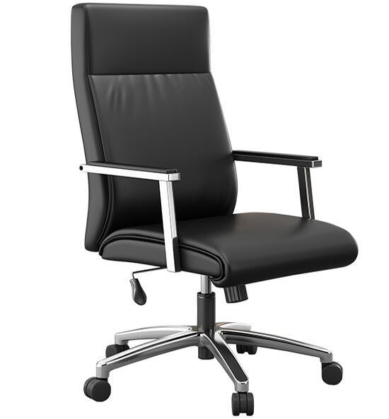 皮质电脑椅